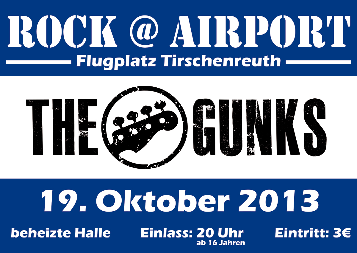 Rock At Airport 2013 mit The Gunks